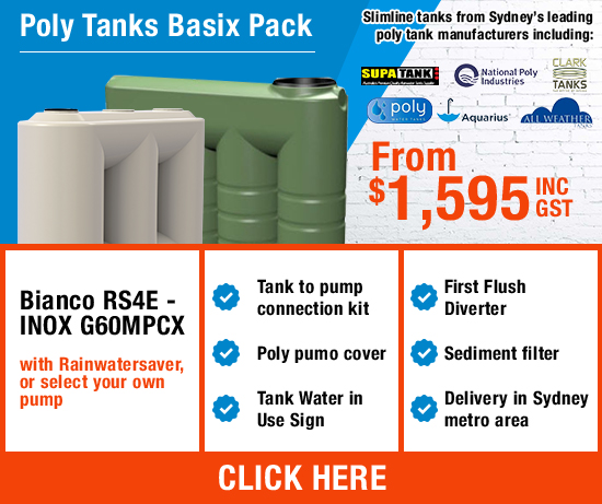 Poly Tanks Basix Pack